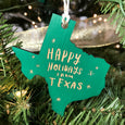 Happy Holidays from Texas Ornament