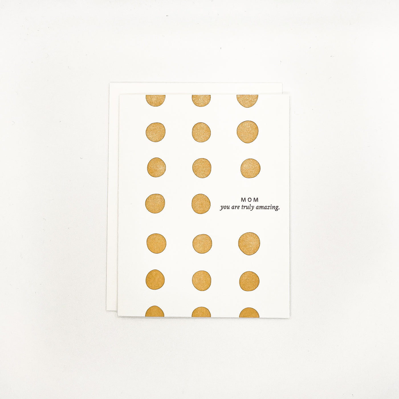 Amazing Mom Dots Card