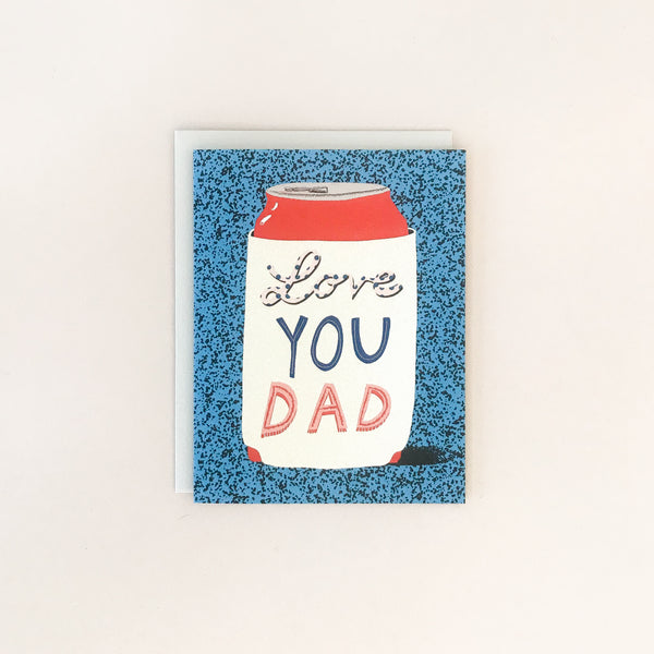Koozie Greeting Card