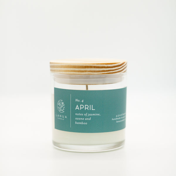4.5oz Lanua Candle - April
