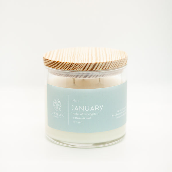 14oz Lanua Candle - January