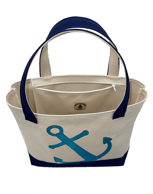 Anchors Away Large Tote Bag
