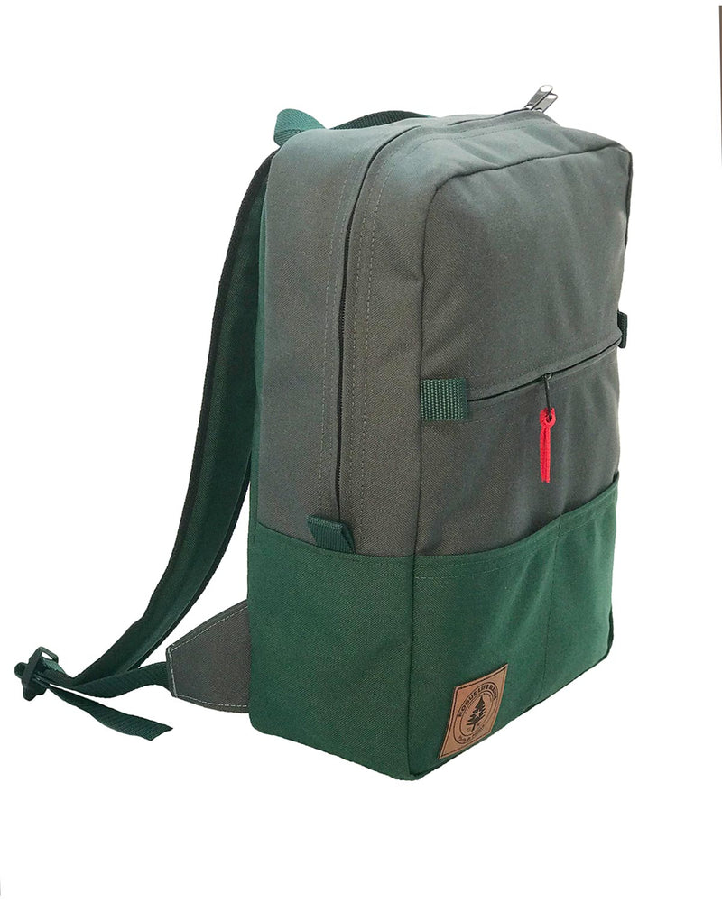 Benny Backpack - Coal Grey Hunter Green
