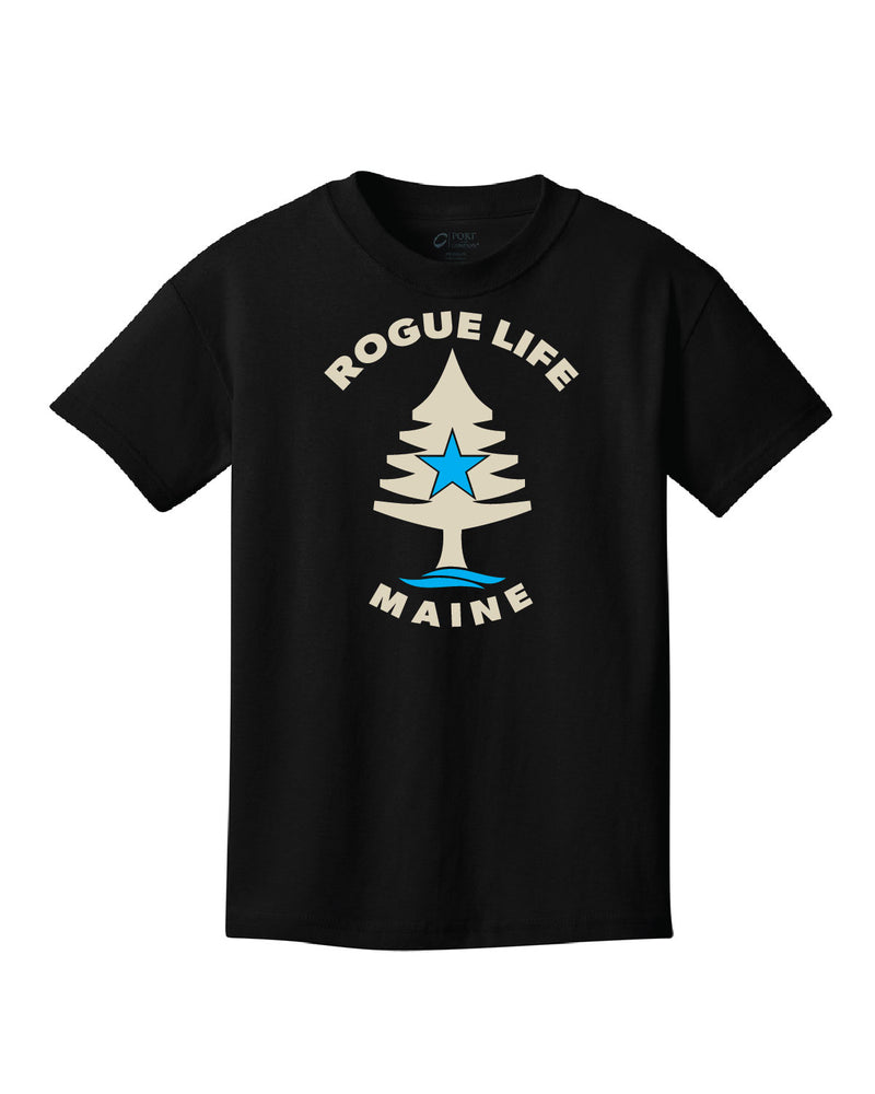 Kids Rogue Life Black T-shirt