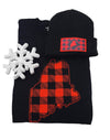 Buffalo Plaid State of Maine Shirt and Beanie Gift Set