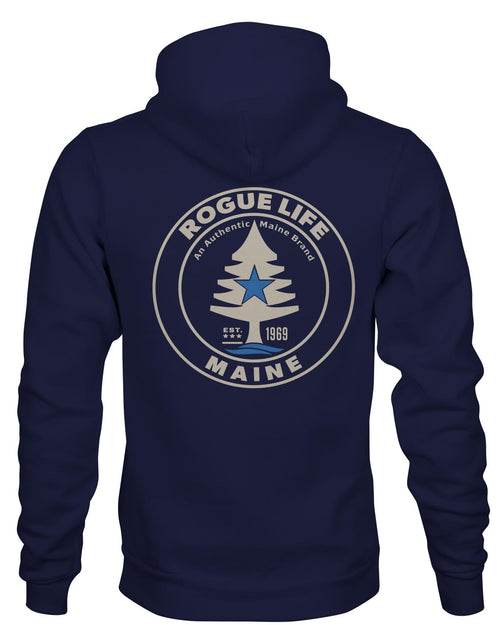 Rogue Life Maine Navy Blue Hoodie