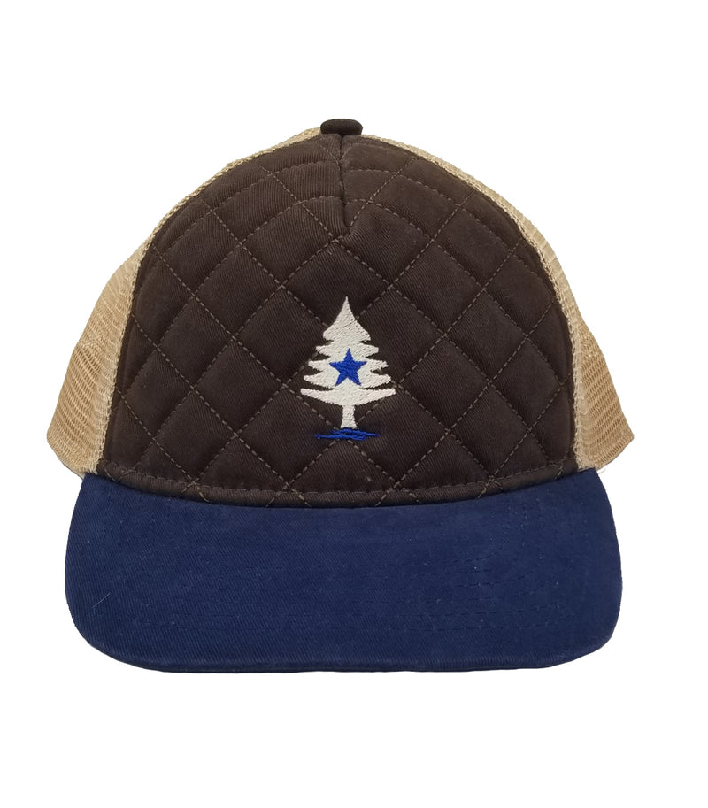Rogue Life Quilted Cap-Brown
