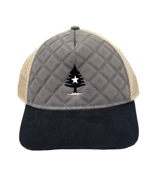 Rogue Life Quilted Cap-Grey