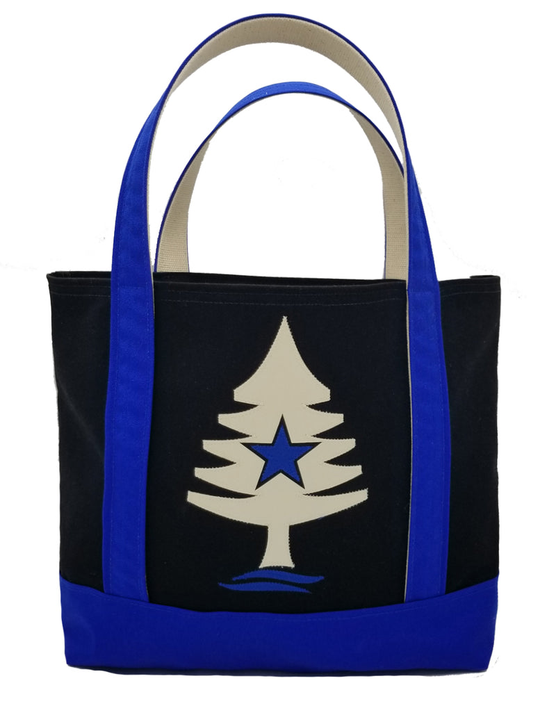 Rogue Life Tree Applique Large Tote Bag