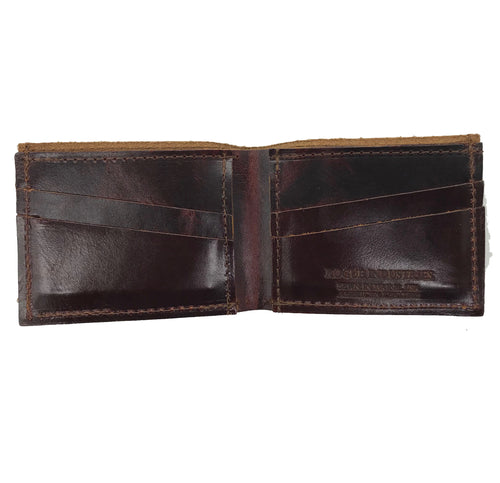 Rogue by Rogue Industries Traditional Heritage Wallet - Cabernet Brown