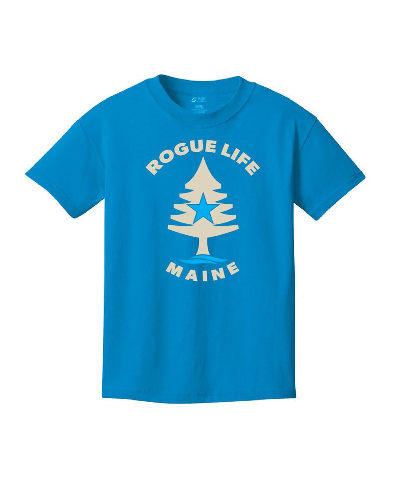 Kids Rogue Life Sapphire Blue T-shirt