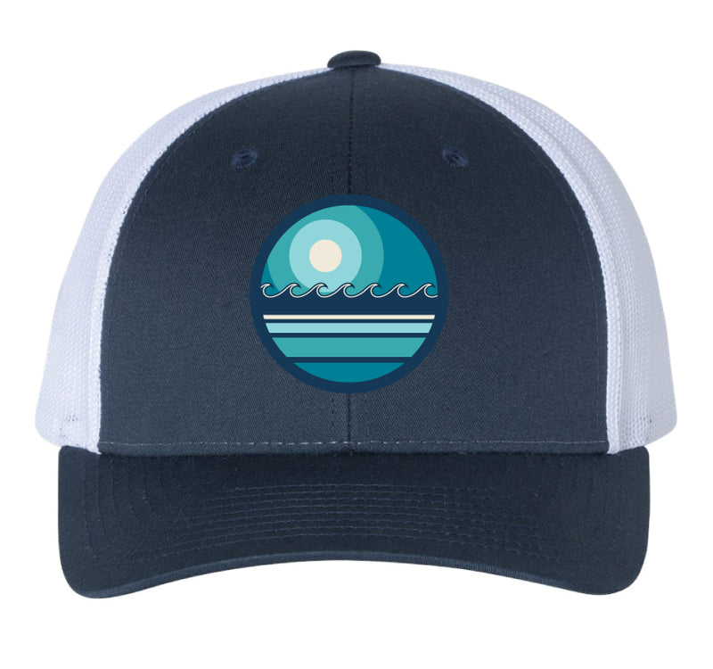 "Scapes ""Waves"" Trucker Cap"