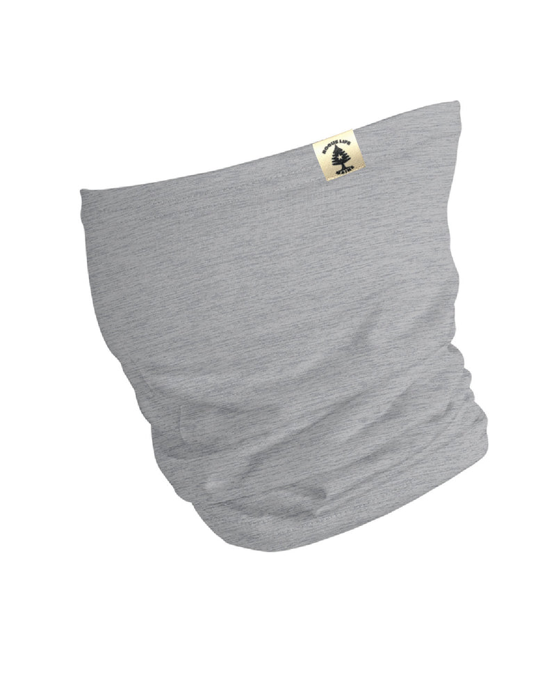 Rogue Life Neck Gaiter-Heather Grey