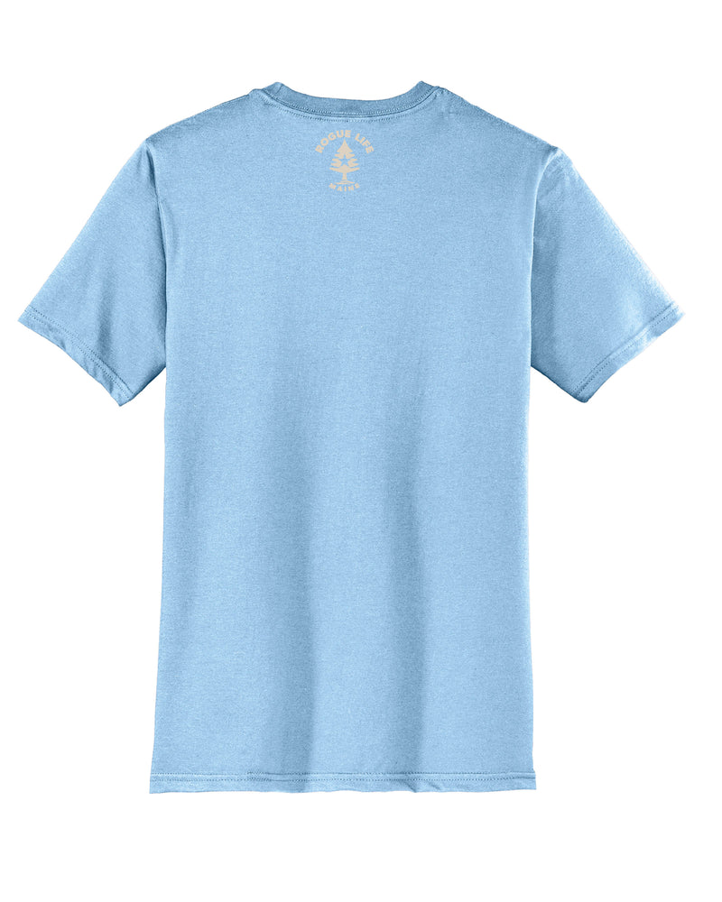New Maine Est.1820 T-shirt-Ice Blue