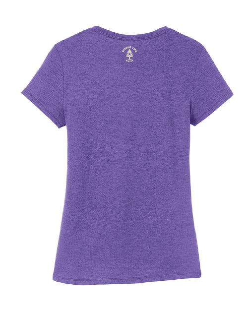 New Maine Est.1820 Ladies T-shirt-Frost Purple