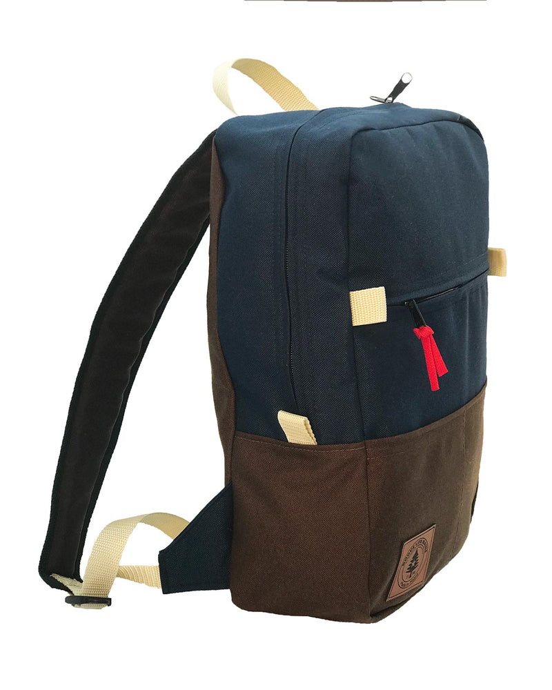 Benny Backpack - Navy Dark Brown