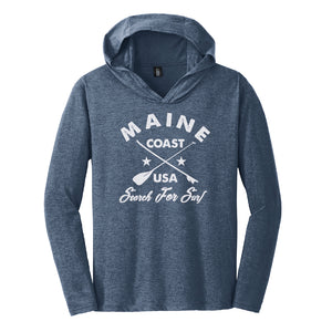 "Maine Coast ""Search For Surf"" Lightweight L/S Hoodie"
