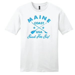 "Maine Coast ""Search For Surf"" Lightweight T-Shirt"