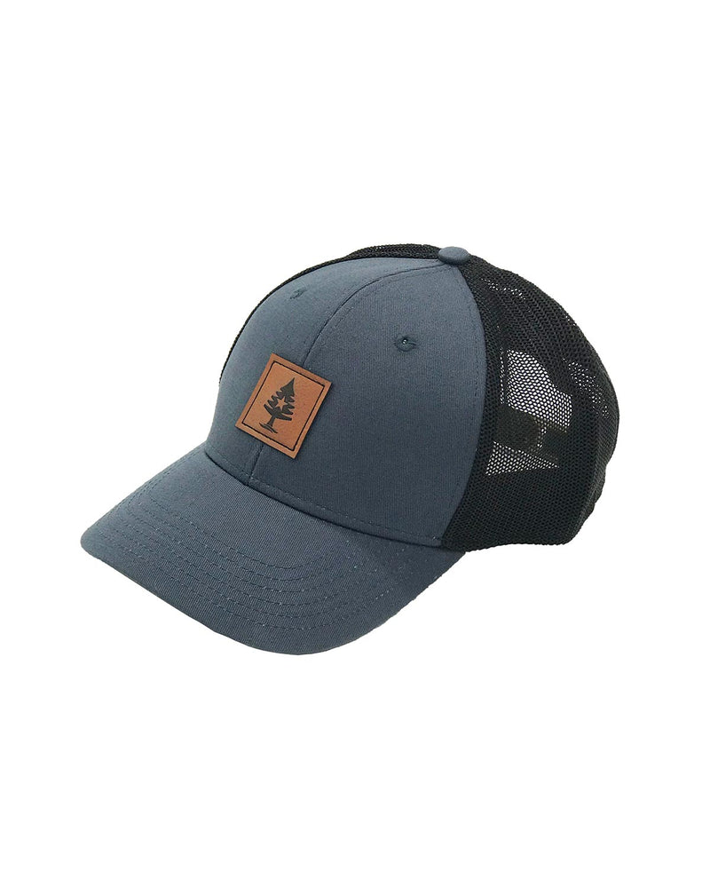 Rogue Life Maine Trucker Hat Slate Blue