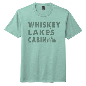 Whiskey, Lakes, Cabin Unisex S/S Tee