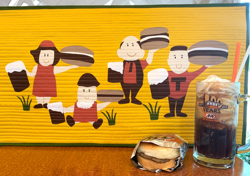 Burger Family Pattern