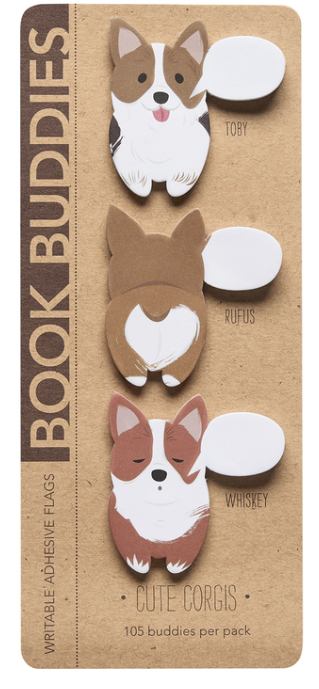 Book Buddies Cute Corgis