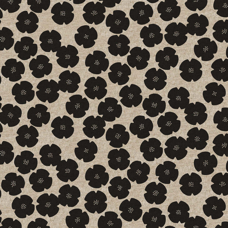 Floral in Black $18.40/yd