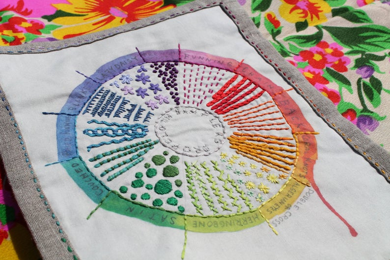 Dropcloth Color Wheel Sampler