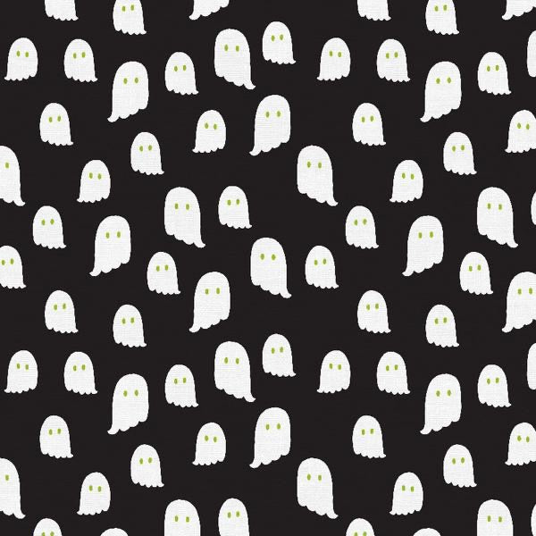 Halloween Ghosts Black - Halloween Night