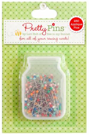 Applique in Pretty Pins