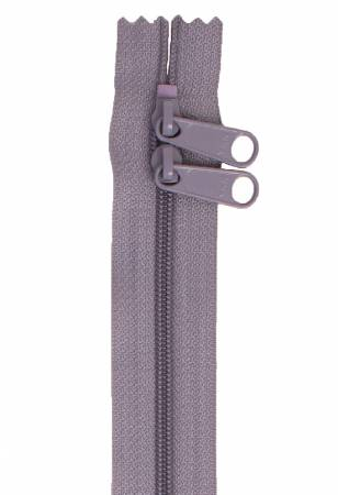 Handbag Zipper 40 inch in Gunmetal Gray