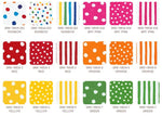 Fat Eighths Bundle: Dot and Stripe Delights