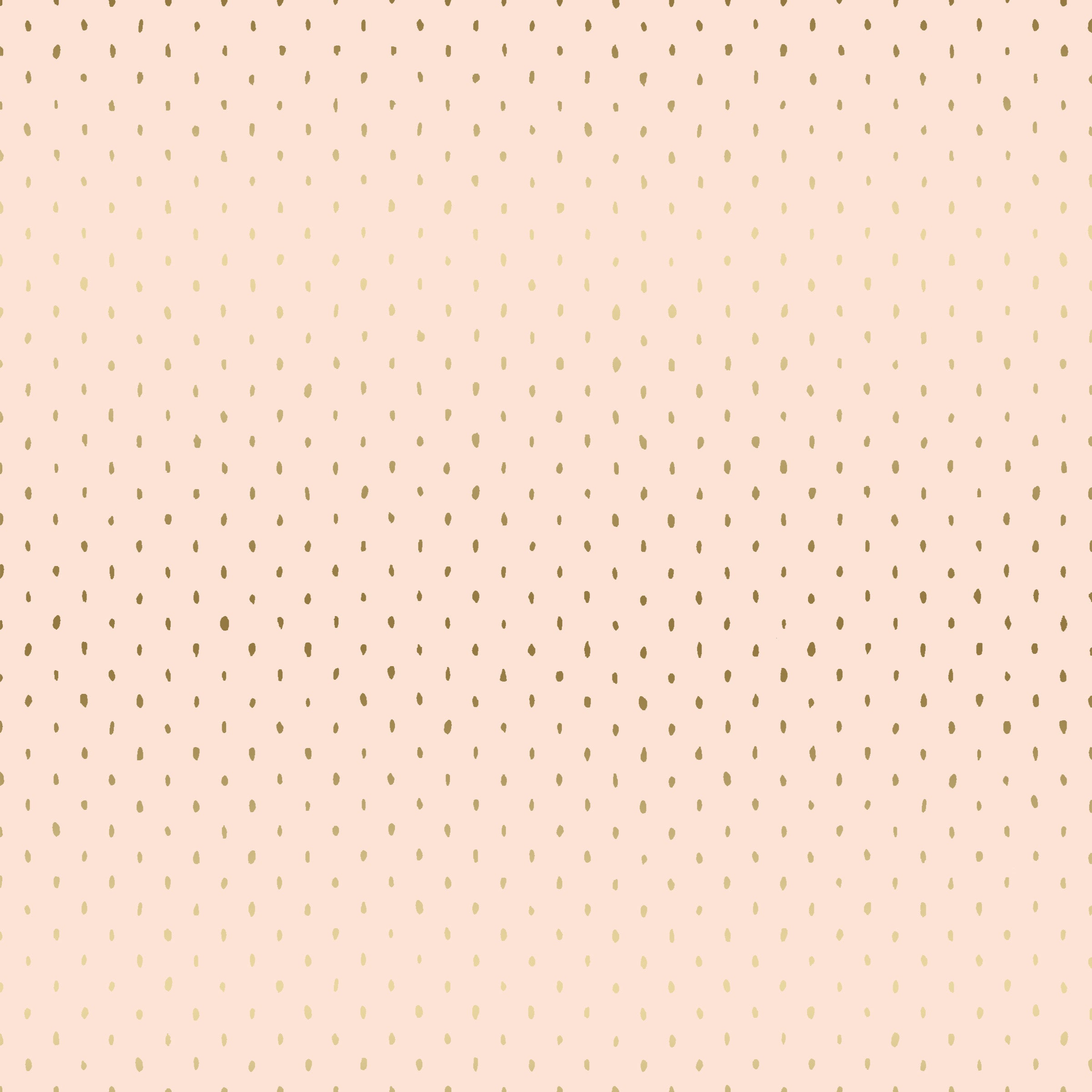 Stitch and Repeat - Blush Metallic $12/yd