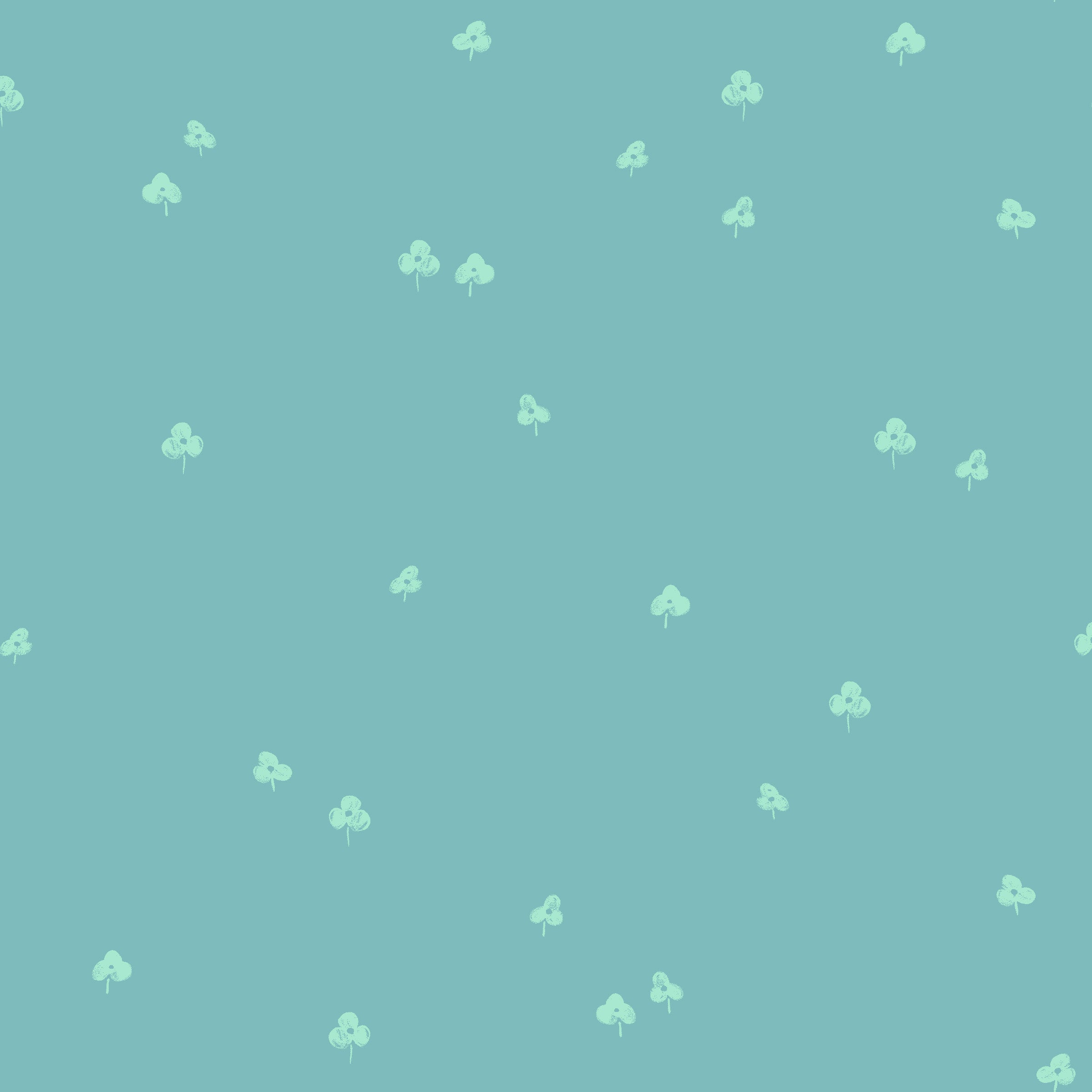 Clover and Over - Seaside $11.60/yd