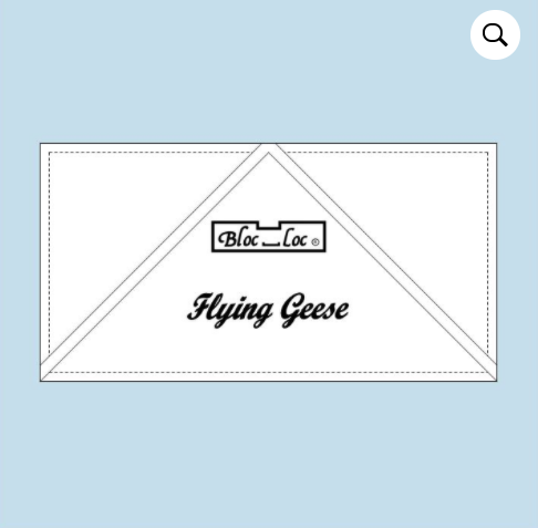 "Bloc Loc Flying Geese 6"" x 12"""