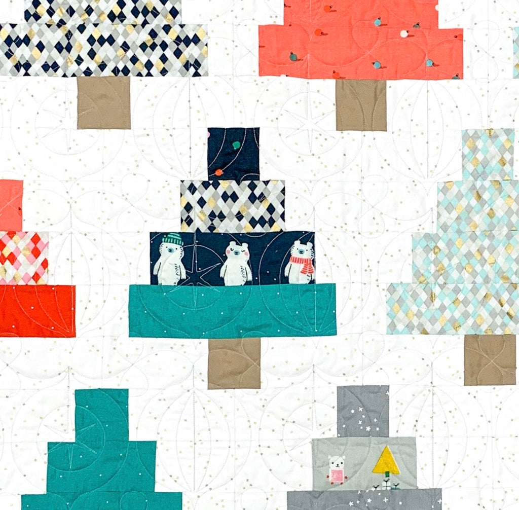 Quilty Trees Quilt Kit
