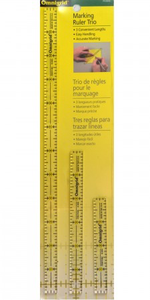 Omnigrid Marking Ruler Trio