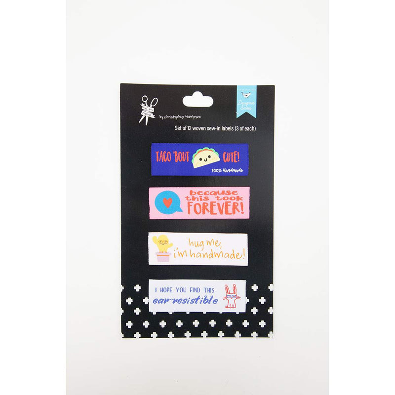 Sew-In Labels 12 pack