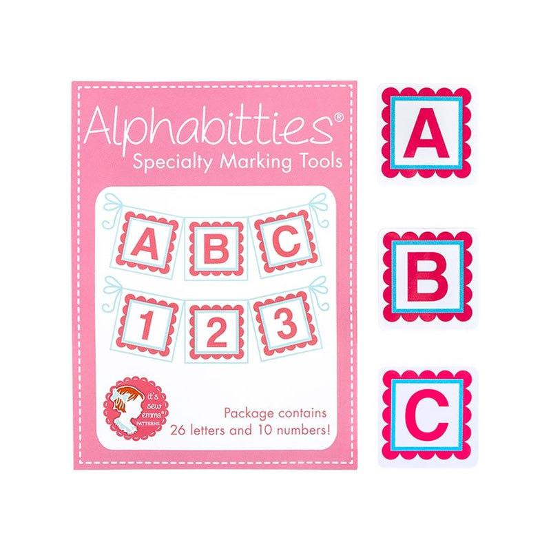 Alphabitties in Pink