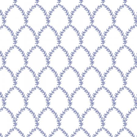 Laurel in Periwinkle