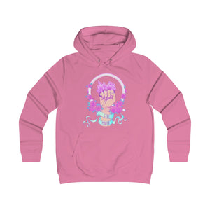 Girl Power | Girlie College Hoodie