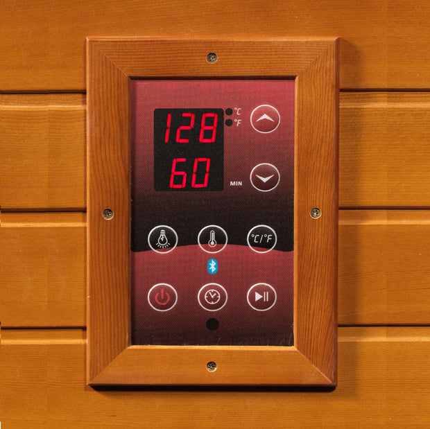 ***Retired in 2018*** DYN-6215-01 Dynamic Low EMF Far Infrared Sauna, Vienna Edition