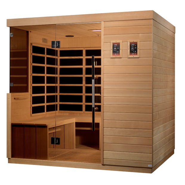 DYN-5860-01 La Sagrada 6 Person Ultra Low EMF FAR Infrared Sauna