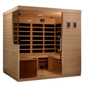 ***New 2020 Model*** La Sagrada 6 Person Ultra Low EMF FAR Infrared Sauna