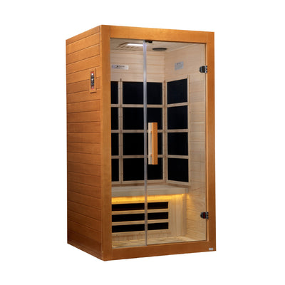 DYN-6108-01 Paris 1-2 Person Ultra Low EMF Far Infrared Sauna