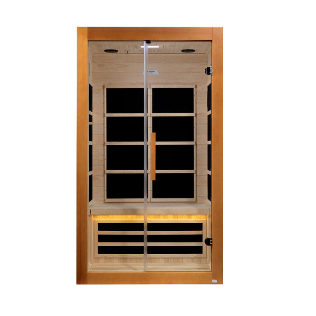 DYN-6208-01 Toulouse 2 Person Ultra Low EMF Far Infrared Sauna