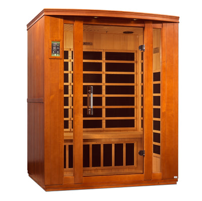 ***Updated 2021 Model*** DYN-6306-01 Dynamic Low EMF Far Infrared Sauna, Bellagio Edition