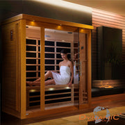 ***Retired in 2018*** DYN-6315-01 Dynamic Low EMF Far Infrared Sauna, Florence Edition
