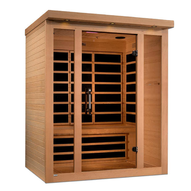***New 2020 Model*** Vila 3 Person Ultra Low EMF FAR Infrared Sauna