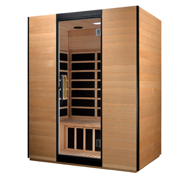 ***New 2020 Model*** Valencia 3 Person Ultra Low EMF FAR Infrared Sauna